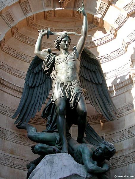 L'Archange Saint Michel (Paris) dans images sacrée St-Michel-2gf