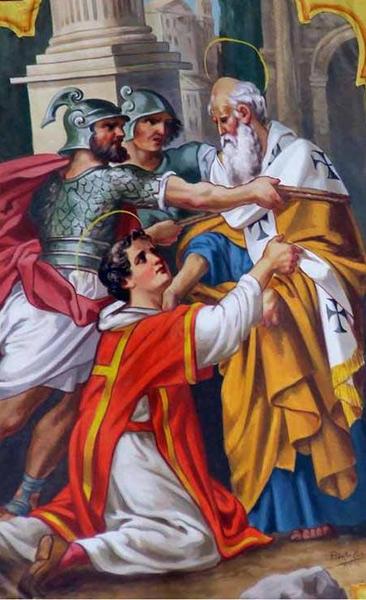 Rome Chrétienne et ses monuments - EUGENE DE LA GOURNERIE - 1867 Saint_Laurent_Sixte_IIa