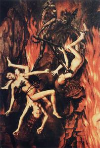 Hans Memling : Triptyque du Jugement dernier (détail du panneau de droite)